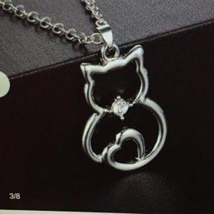Jewelry Necklace Cat Pendant